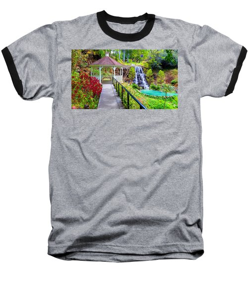 Maui Botanical Garden Baseball T-Shirt by Michael Rucker