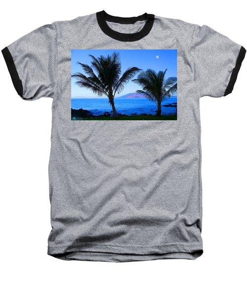 Maui Coastline Baseball T-Shirt by Michael Rucker