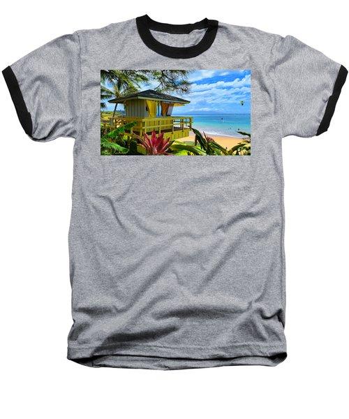 Maui Kamaole Beach Baseball T-Shirt