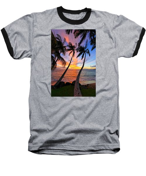 Maui Magic Baseball T-Shirt