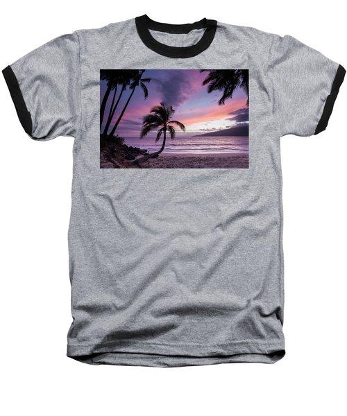 Maui Moments Baseball T-Shirt by James Roemmling