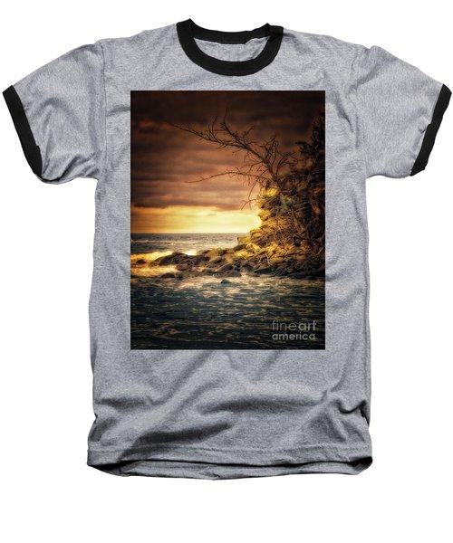 Maui Ocean Point Baseball T-Shirt