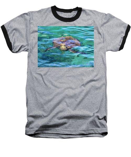 Maui Sea Turtle Baseball T-Shirt