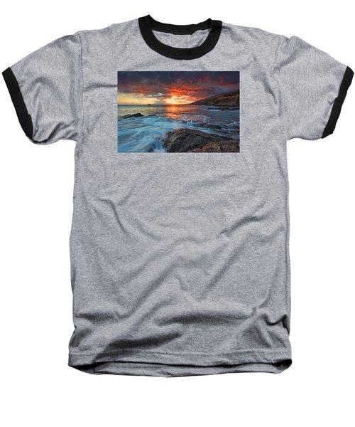Maui Skies Baseball T-Shirt by James Roemmling