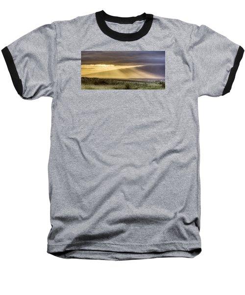 Maui Sunset God Rays Baseball T-Shirt