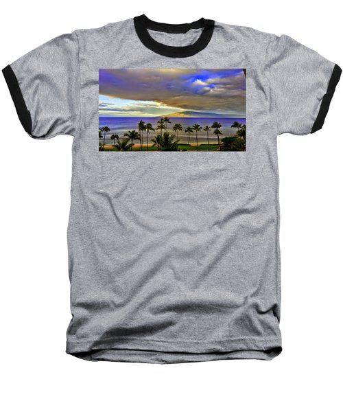 Maui Sunset At Hyatt Residence Club Baseball T-Shirt