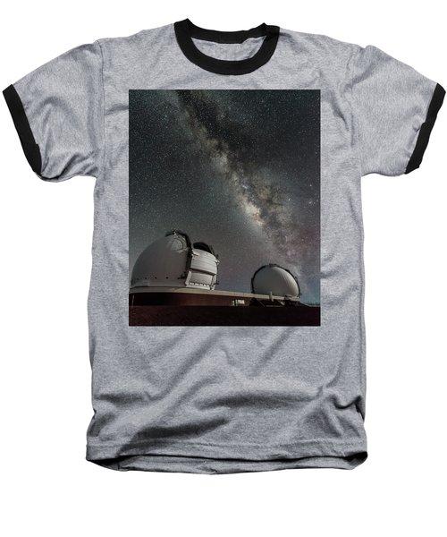 Mauna Kea Night Baseball T-Shirt