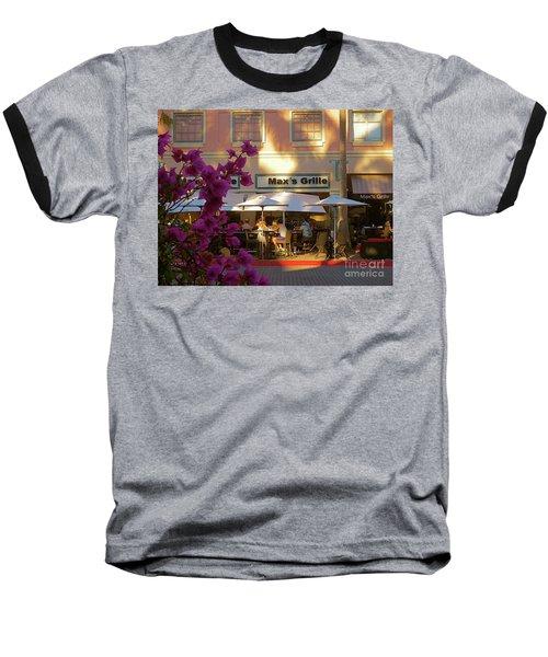Max's Cafe In Mizner Park. Boca Raton, Fl Baseball T-Shirt