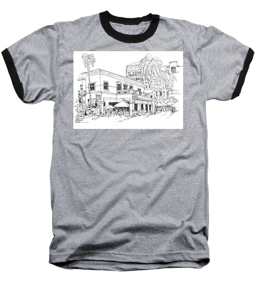 Max's Cafe In Mizner Park, Florida Baseball T-Shirt