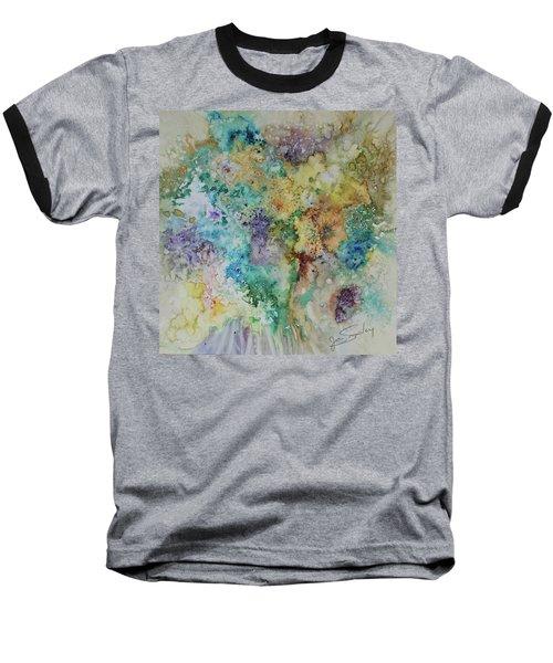 May Flowers Baseball T-Shirt by Joanne Smoley
