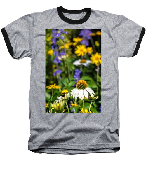 Baseball T-Shirt featuring the photograph May Flowers by Steven Sparks