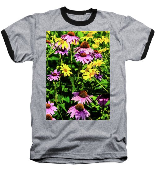 May Flowers Baseball T-Shirt