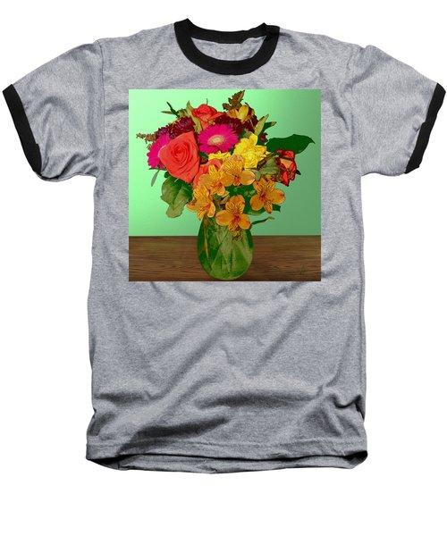 May Flowers Baseball T-Shirt