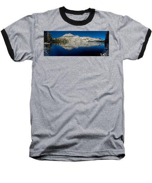 May Lake Panorama Baseball T-Shirt