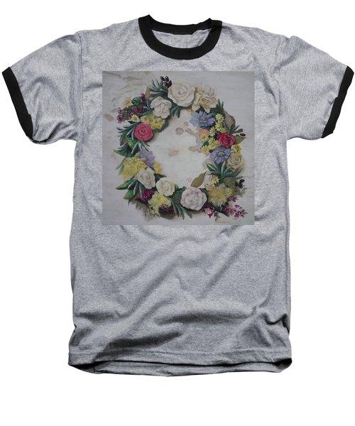 May Wreath Baseball T-Shirt