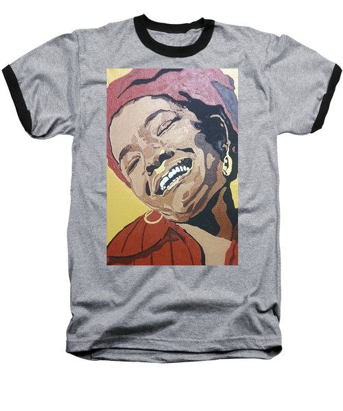 Maya Angelou Baseball T-Shirt
