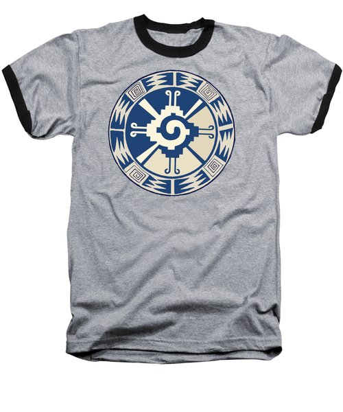 Mayan Hunab Ku Design Baseball T-Shirt