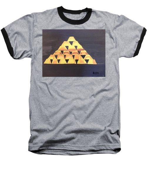 Tax Baseball T-Shirt by Joshua Maddison