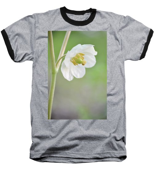 Mayapple Flower Baseball T-Shirt