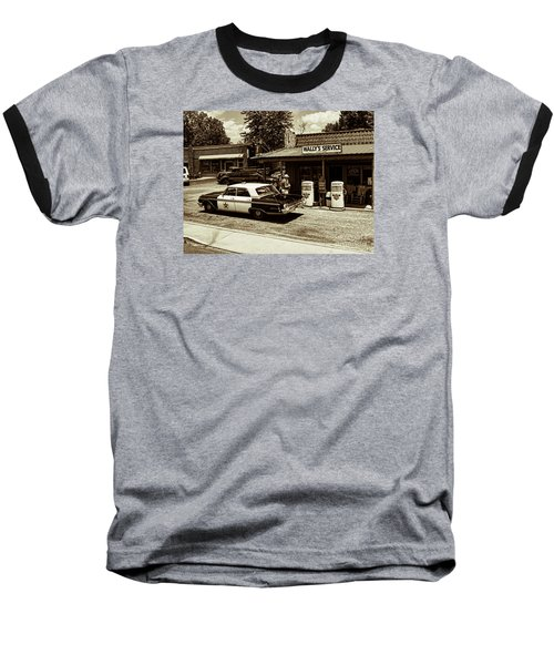 Automobile History Baseball T-Shirt