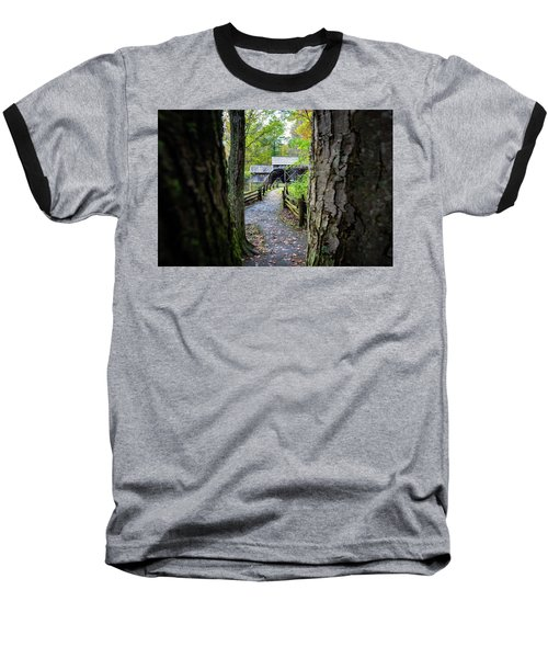 Maybry Mill Through The Trees Baseball T-Shirt