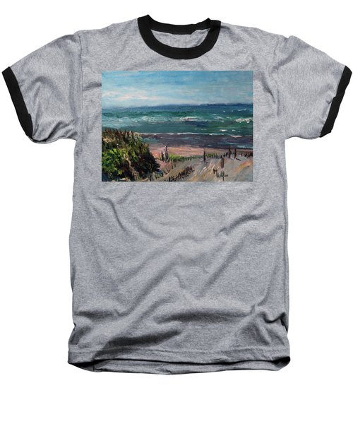Mayflower Beach Baseball T-Shirt