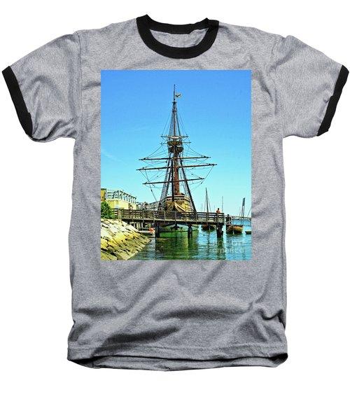 Mayflower II Baseball T-Shirt