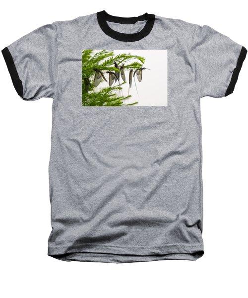 Mayfly Slumbers Baseball T-Shirt