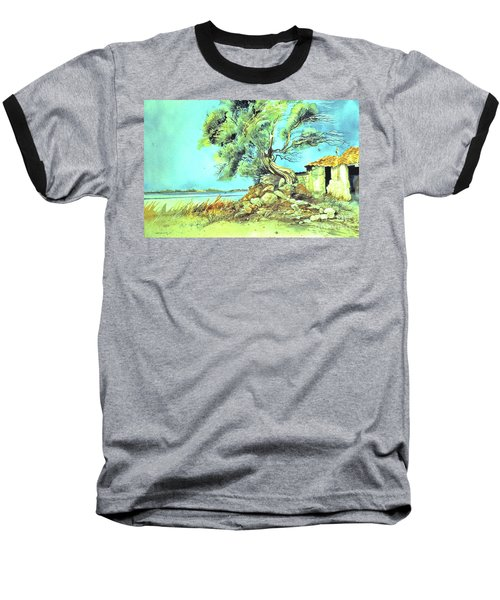 Mayorcan Tree Baseball T-Shirt