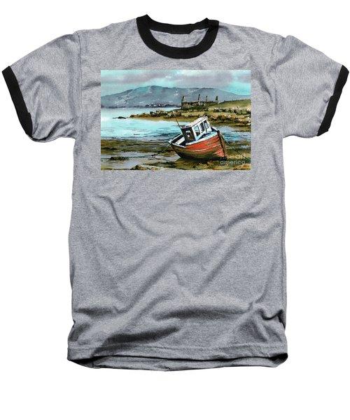 Mayo..red Boat At Coraun. Baseball T-Shirt