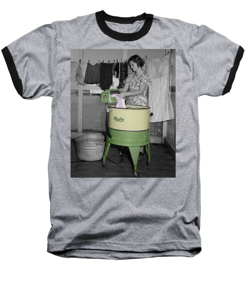 Maytag Woman Baseball T-Shirt