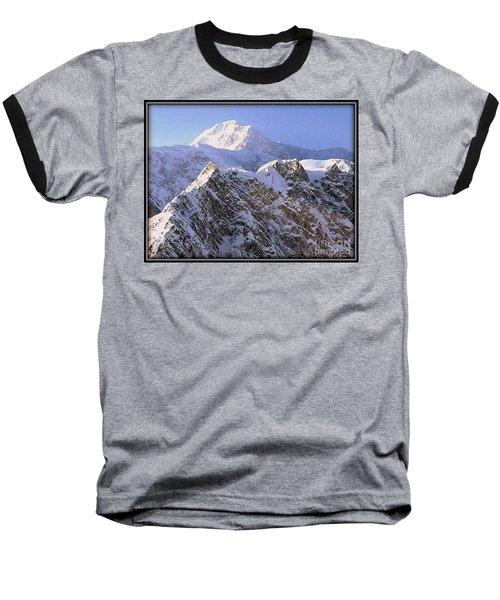 Mc Kinley Peak Baseball T-Shirt