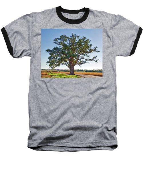 Mcbaine Bur Oak Baseball T-Shirt