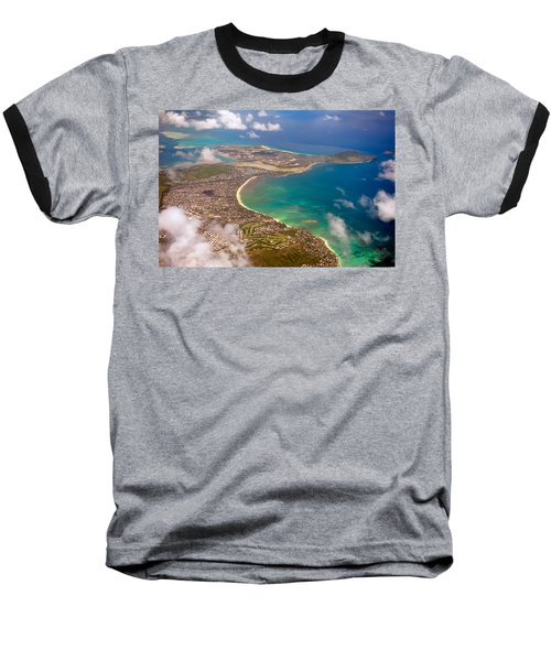 Baseball T-Shirt featuring the photograph Mcbh Aerial View by Dan McManus
