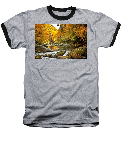 Baseball T-Shirt featuring the photograph Mcconnell's Mill State Park by Skip Tribby