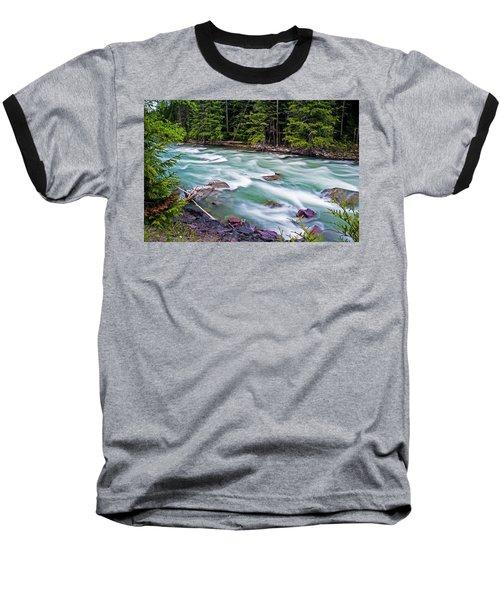 Baseball T-Shirt featuring the photograph Mcdonald Creek by Gary Lengyel