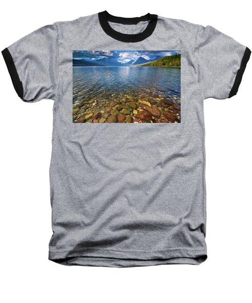 Mcdonald Lake Colors Baseball T-Shirt