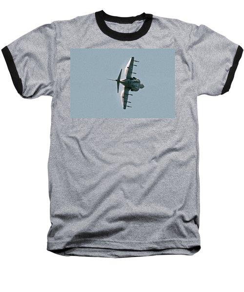 Mcdonnell-douglas Av-8b Harrier Buno 164119 Of Vma-211 Turning Mcas Miramar October 18 2003 Baseball T-Shirt by Brian Lockett