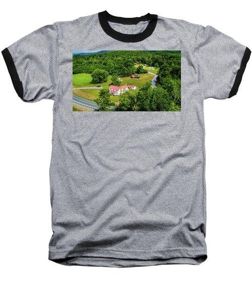 Mcghee Aerial 0068 Baseball T-Shirt