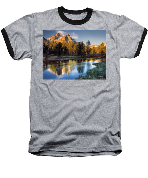 Mcgown Peak Sunrise  Baseball T-Shirt