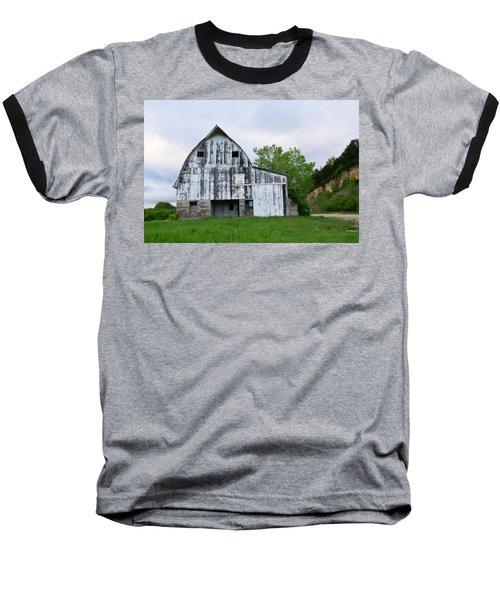 Mcgregor Iowa Barn Baseball T-Shirt