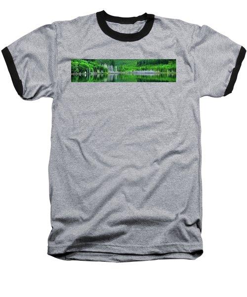 Mcguire Reservoir P Baseball T-Shirt by Jerry Sodorff