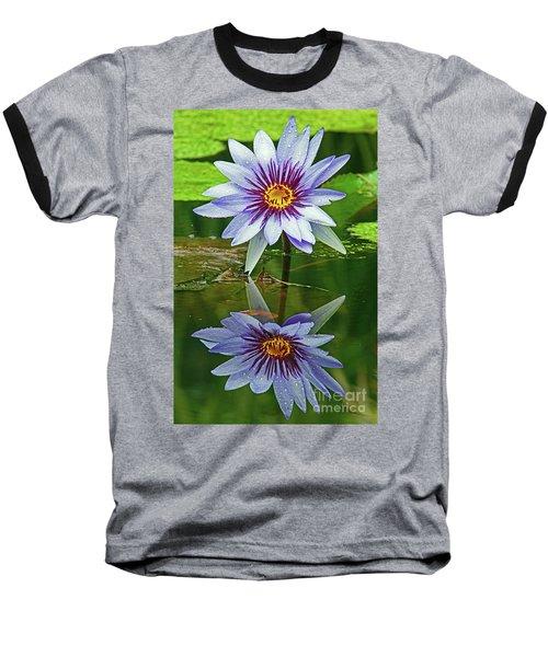 Mckee Waterlily II Baseball T-Shirt