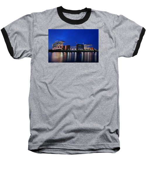 Mclane Stadium Evening Baseball T-Shirt