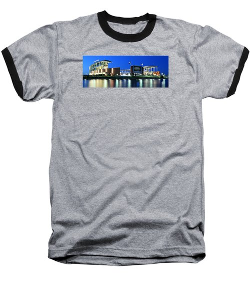Mclane Stadium Panoramic Baseball T-Shirt