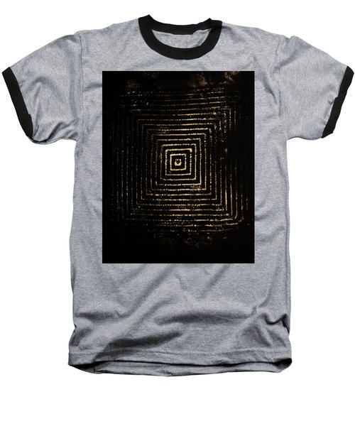 Mcsquared Baseball T-Shirt by Cynthia Powell