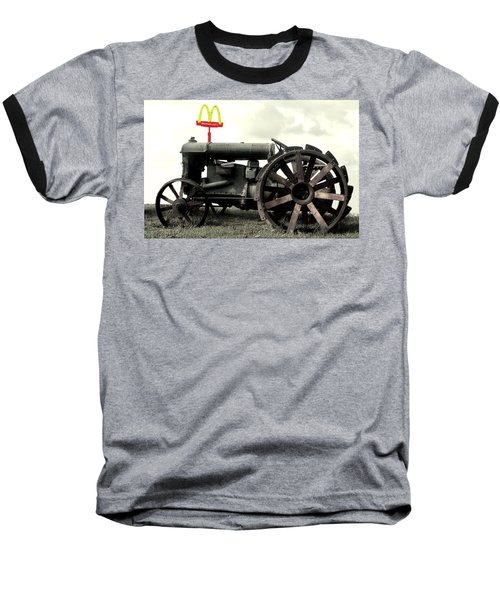 Mctractor Big Mac Baseball T-Shirt