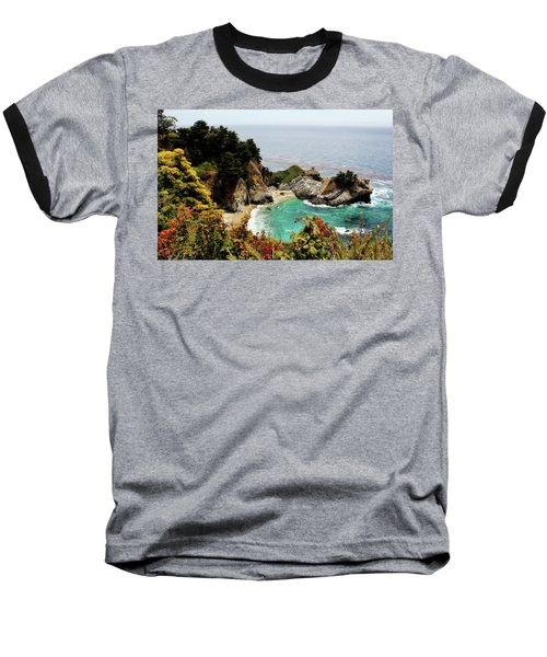Mcway Falls 2 Baseball T-Shirt by Judy Vincent