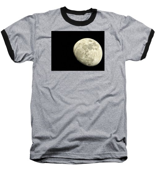 Baseball T-Shirt featuring the photograph Me And The Moon Tonight by Nikki McInnes