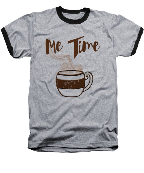 Baseball T-Shirt featuring the photograph Me Time - Steaming Cup Of Coffee by Joann Vitali